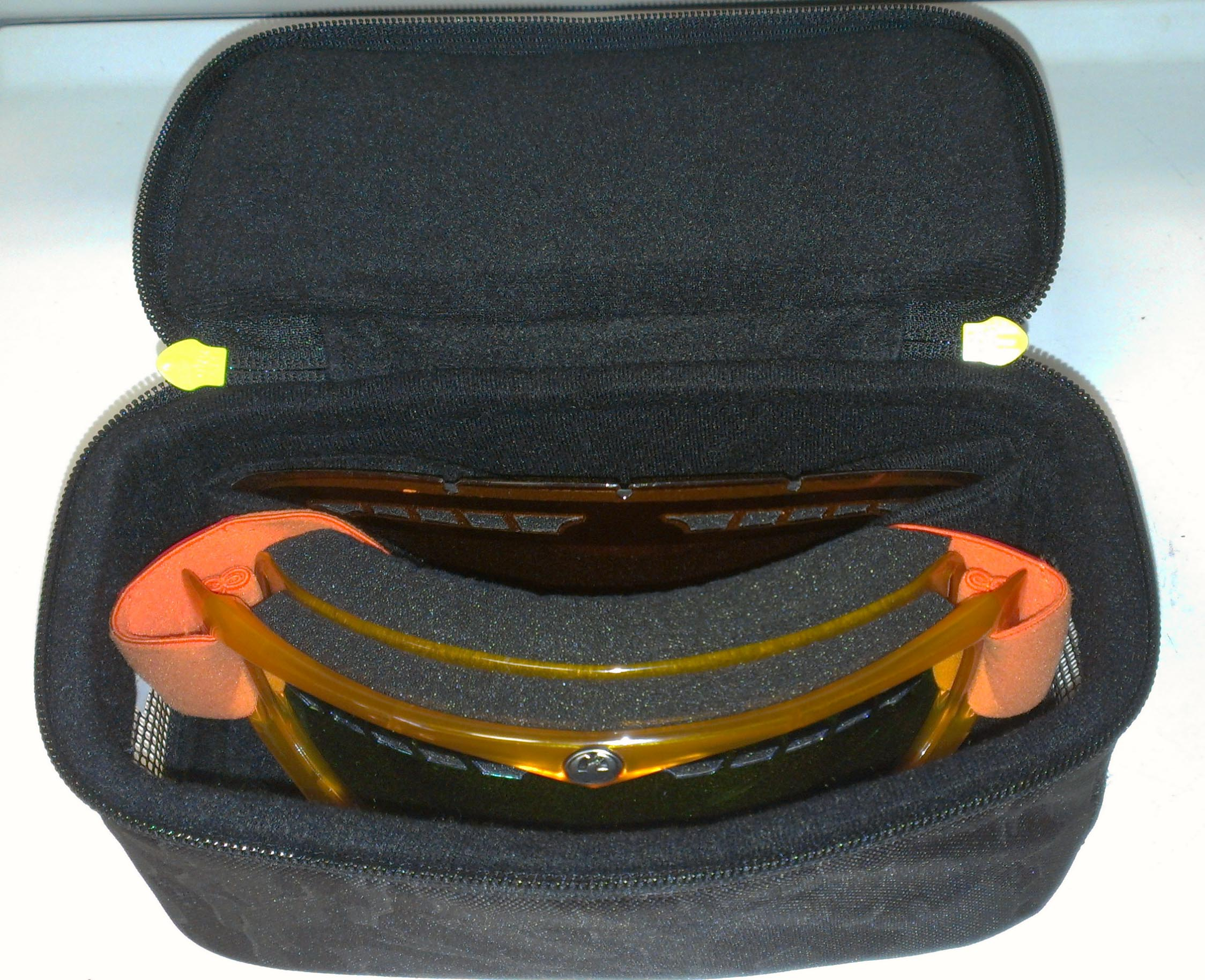 Article 1 - Pic 4 - Progression - Type of Goggles to Wear - Pic of DaKine Goggles Case Open - DF