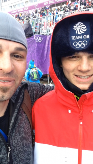 Interview with Team Great Britain's Jamie Nicholls at Sochi 2014 Winter Olympics