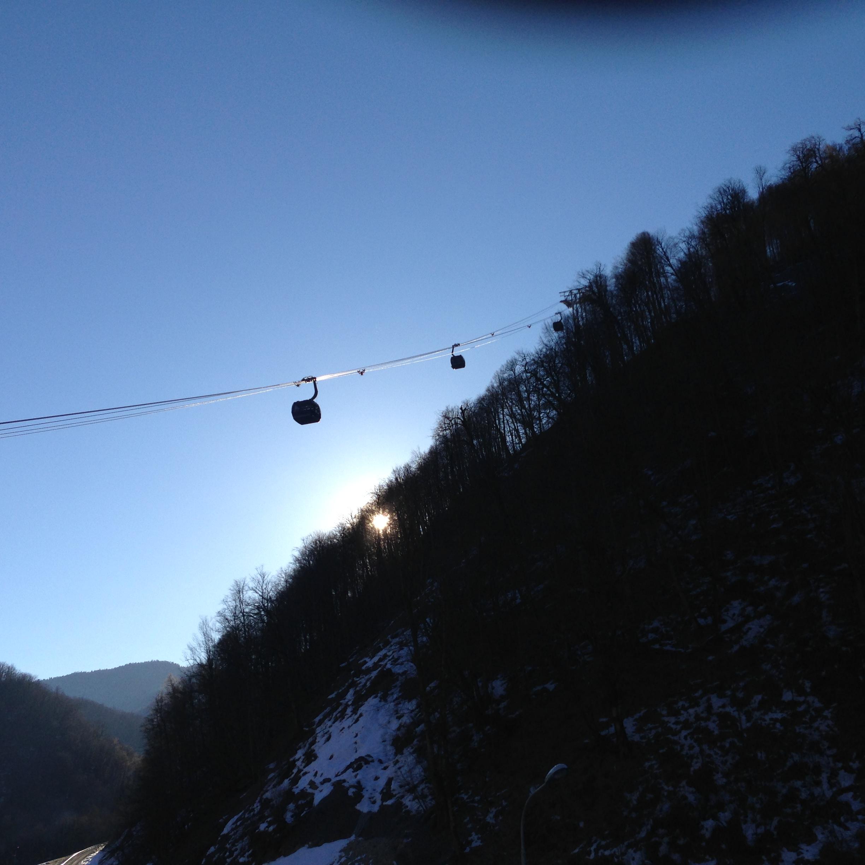 Gondola to Rosa Khutor - 2