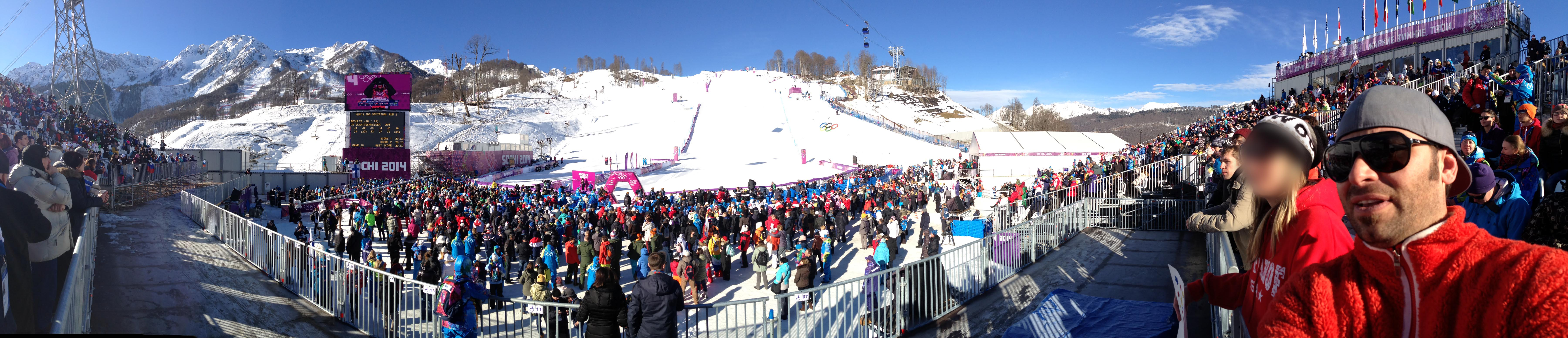 Panoramic from Men's Snowboard Slopestyle_Cropped & Edited