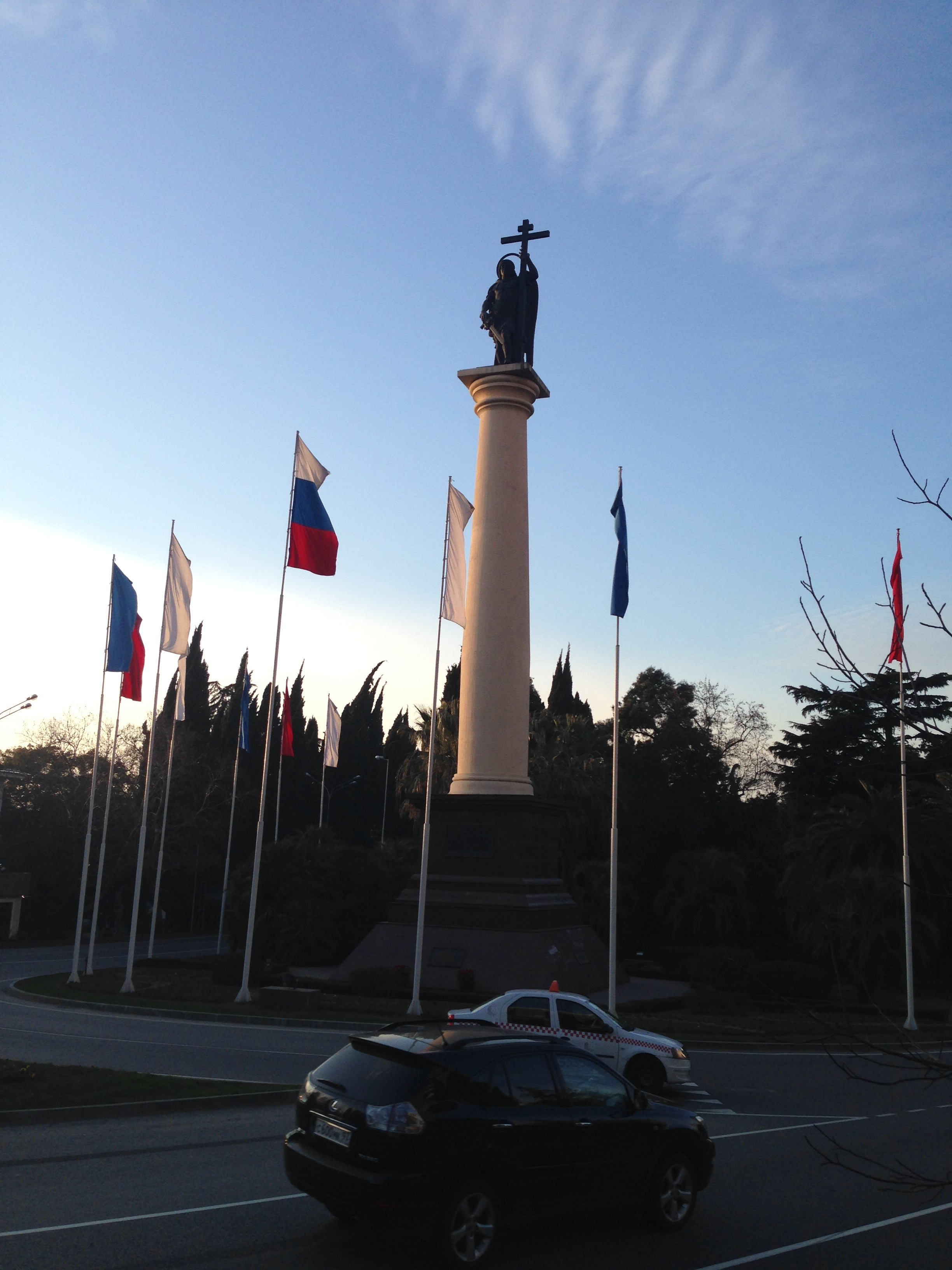 Statue in Sochi